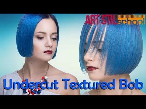 Undercut Textured Bob