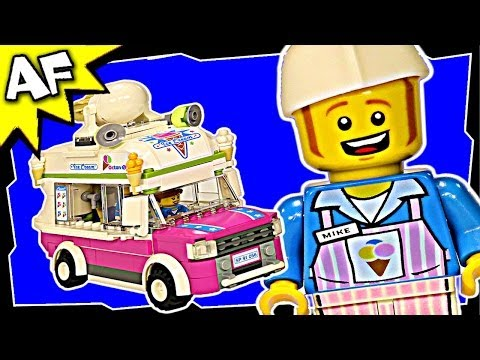 Lego Movie ICE CREAM VAN #1 70804 Animated Building Review