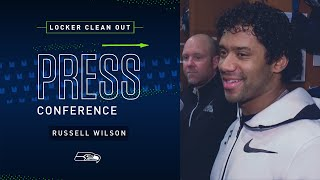 Russell Wilson Locker Clean Out Press Conference | 2019 Seattle Seahawks