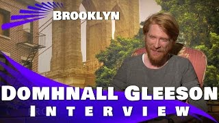 Domhnall Gleeson Exclusive Movie Interview:Brooklyn