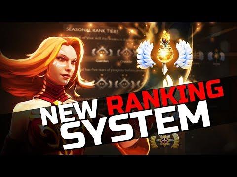 "Seasonal Ranked Update Dota 2 - NEW ""MMR"" System"