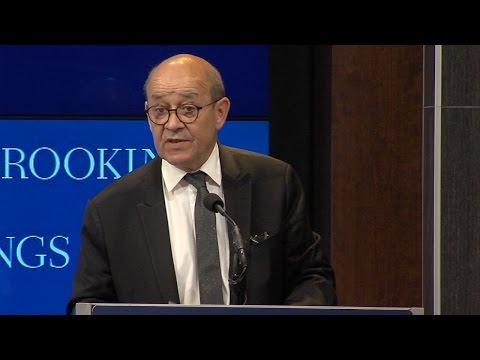 Reinvigorating the transatlantic partnership to tackle evolving threats: Jean-Yves Le Drian