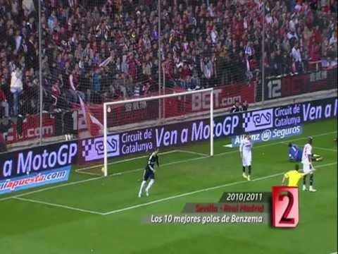 Los diez mejores goles de Karim Benzema con el Real Madrid