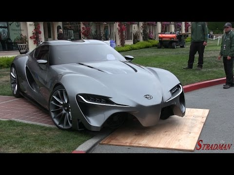 The Next Generation Supra?  The Toyota FT-1 Concept