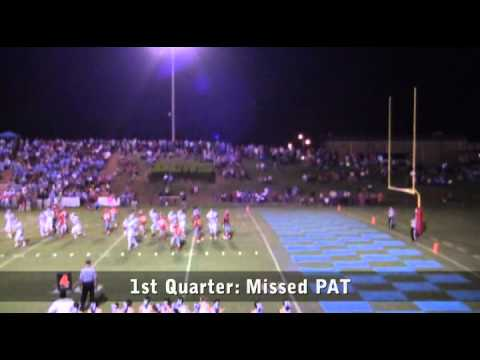 Highlights: Houston Academy vs Dale County - 09/29/2012