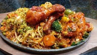 Chicken sizzler - Restaurant ki mehngi dish ab ghar par banae | Chinese Chicken sizzler