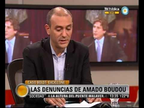 Visión Siete: Caso Boldt-Ciccone: Las denuncias de Amado Boudou