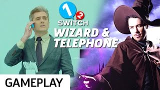 Casting Spells  & Answering Phones In 1-2 Switch