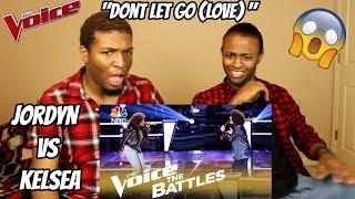 "Download Lagu The Voice 2018 Battle - Jordyn Simone vs. Kelsea Johnson: ""Don't Let Go (Love)"" (REACTION) Gratis STAFABAND"