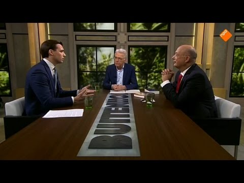 Thierry Baudet en Rob Riemen over Oekraïnereferendum in Buitenhof