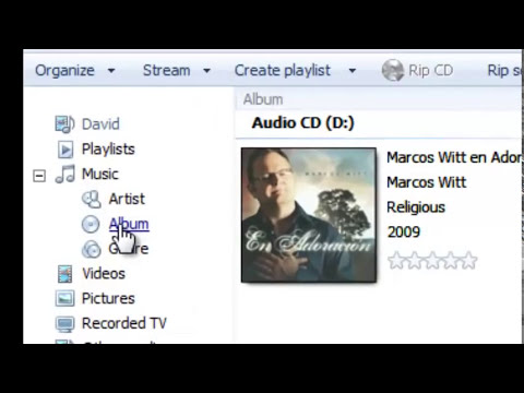TNT Screencast A: How to Rip Music using Windows Media Player 12