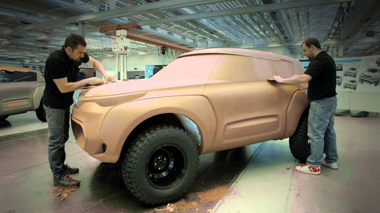 Renault Kwid concept car, designed for international roads ...