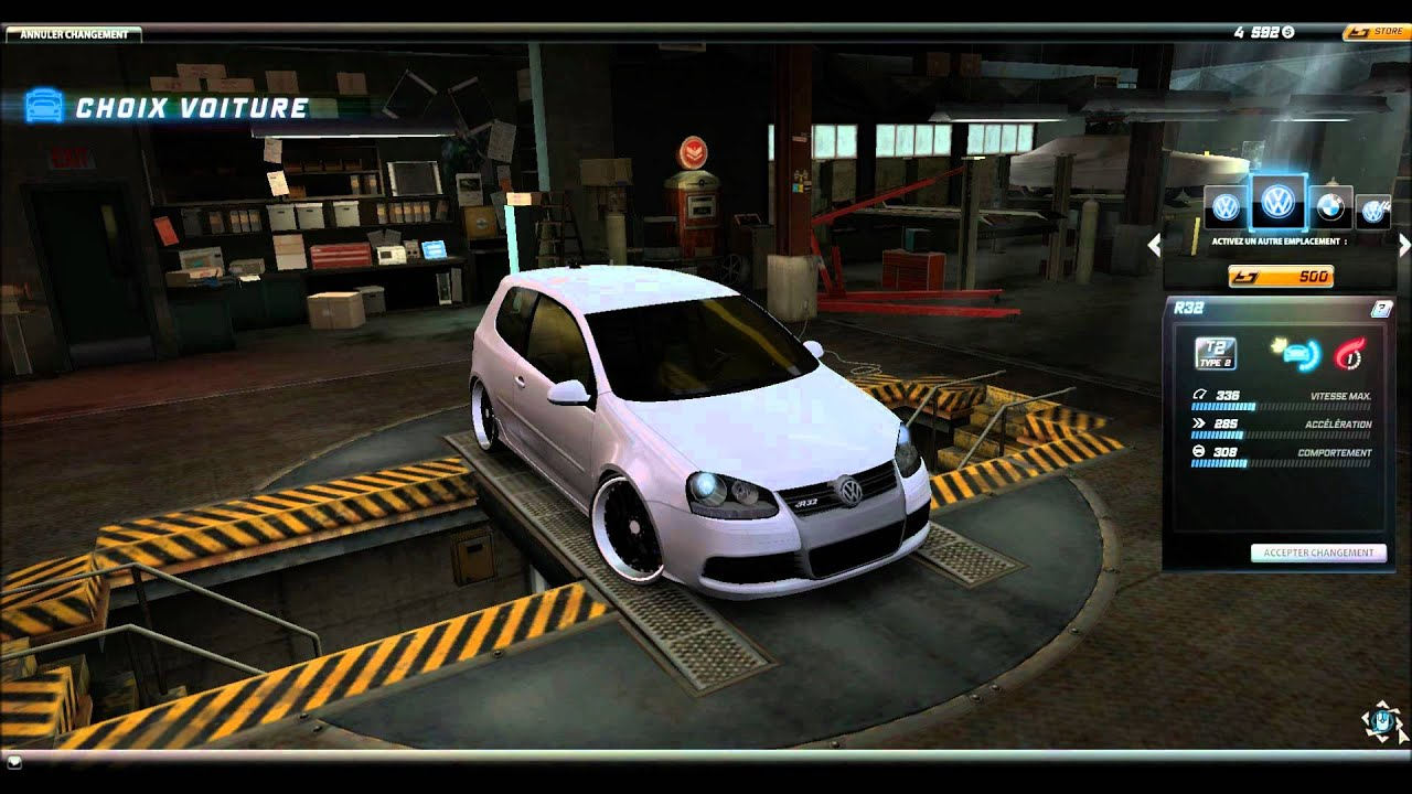 german look cars need for speed world :) - YouTube
