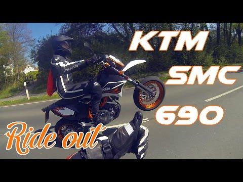 RIDE OUT - Wheelie - KTM 690 SMC R !! Bike Tausch #1