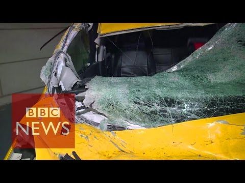 Taiwan plane crash: Luckiest taxi driver in the world?
