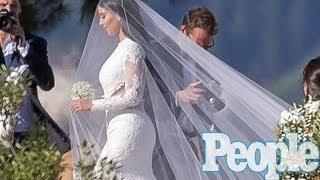 Kim Kardashian Wedding To Kanye West -- Inside Look