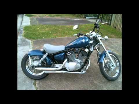 Xv250 Quick Bobber Build plus Custom Exhaust