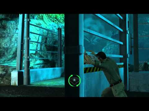 Jurassic Park: The Game T-Rex vs Triceratops gameplay HD
