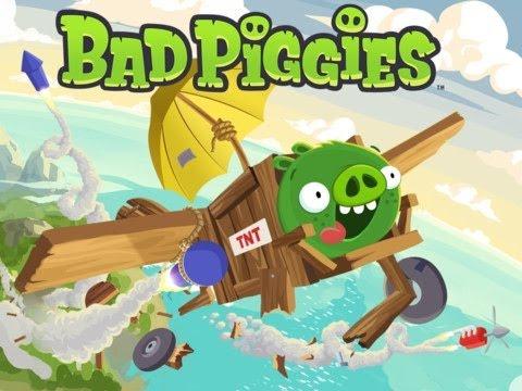 Bad Piggies HD Gameplay iPad - iPad 2 - iPad 3 - iPhone 5