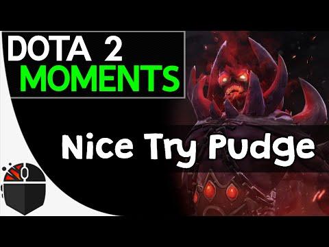 Dota 2 Moments - Nice Try Pudge