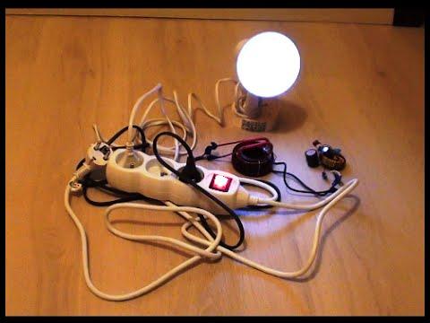 Free Energy Generator for light bulb