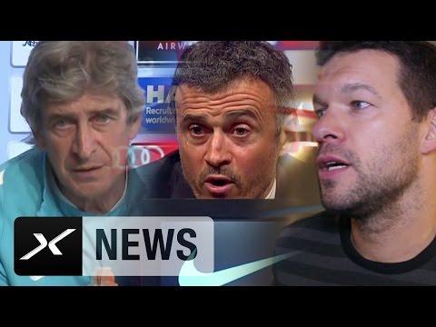 Adios Pep Guardiola! | Stimmen von Michael Ballack, Luis Enrique, Manuel Pellegrini zum Abschied