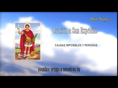 Oracion a San Expedito - Causas Imposibles