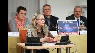 Przesłuchanie Ewy Andruszkiewicz przez komisję weryfikacyjną ds. reprywatyzacji 31.10.2017