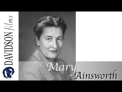 mary ainsworths bibliography Mary whiton calkins was a late 19th and early 20th century psychologist and philosopher who introduced the field of self psychology she was the first woman to become president of the american.