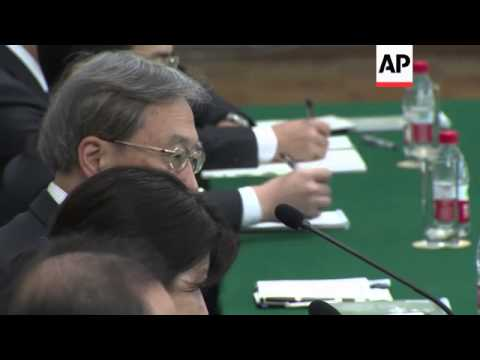 Japan and North Korea hold talks on Japanese nationals abducted by North Korea