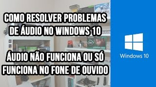 "Como resolver problema de áudio no Windows 10 - Ative a legenda no botão ""CC"" do player do YouTube"