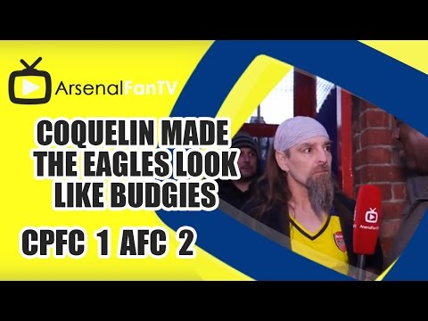 Coquelin Made The Eagles Look Like Budgies - Crystal Palace 1 Arsenal 2