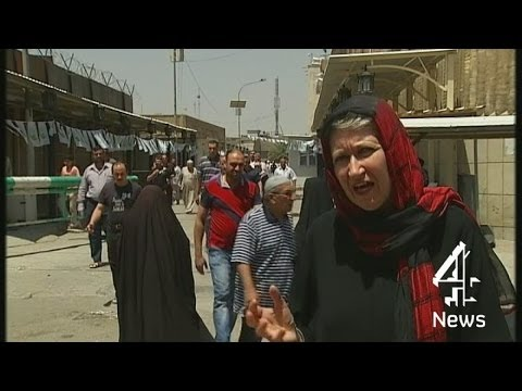 Under the eye of the drones in Iraq | Channel 4 News