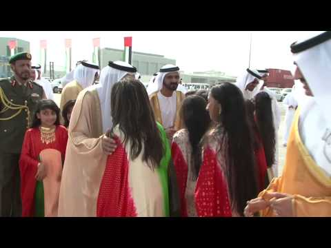 mamemo creates a stunningly powerful inauguration event for Khalifa Port