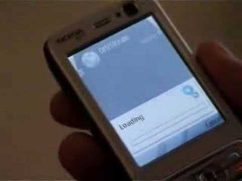 Nokia N73: Orb remote access to PC files from mobile