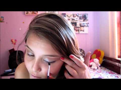 Maquiagem para ir à escola!