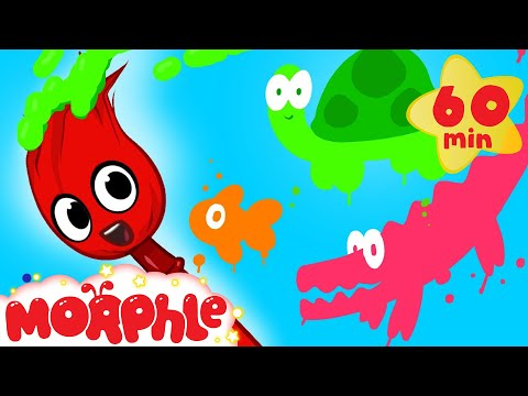 My Magic Colors - Learn Colors for kids! ( + 1 hour Shapes and Phonics and more with Morphle)
