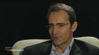 Bernard Liautaud -- Business Objects: « Un entrepreneur est capable de developper une vision »