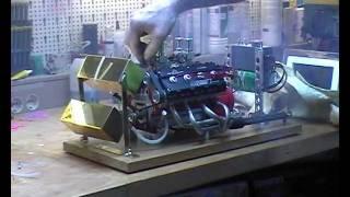Running luther v8 modell engine 00 22