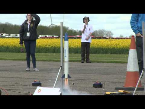 UK Youth Aerospace Rocketry Challenge - National Final May 2012