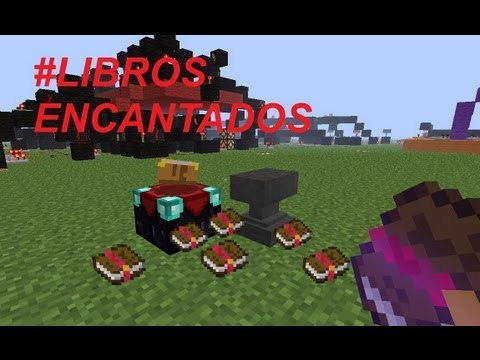 Tutorial Minecraft - Libros encantados (Enchanted books)