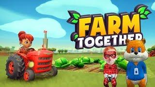 Örümcek Bebek ve Sincap Çiftlik Oyunu Farm Together Oynuyor