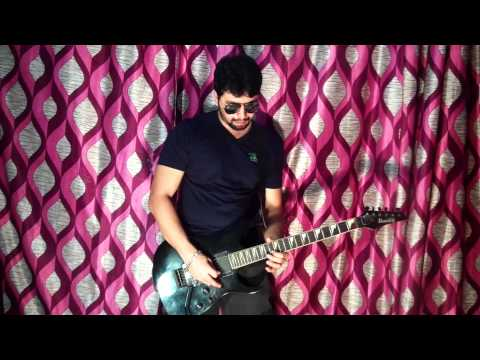 Aahat Serial Music Theme Remixed Cover On Guitar by Rahul Rawat