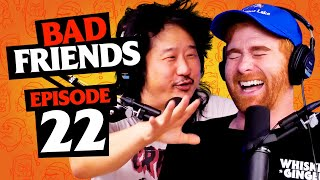 Pandas and Horses and Sheep, Oh My!  | Ep 22 | Bad Friends with Andrew Santino and Bobby Lee