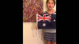 Ruby's Aussie Song by Eiko Bron