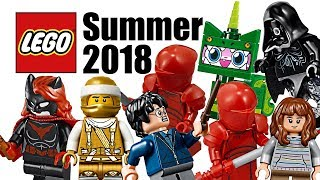Top 25 Most Wanted LEGO Sets of Summer 2018!