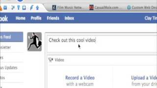 Learn How to upload a video to Facebook!