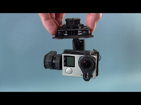 Tarot T4-3D 3-axis brushless gimbal For GoPro - Review, examples and test footage.