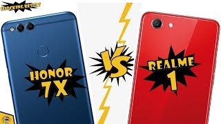Honor 7X Vs Realme 1 Speed Test Comparison| Which is best for You 💥😱