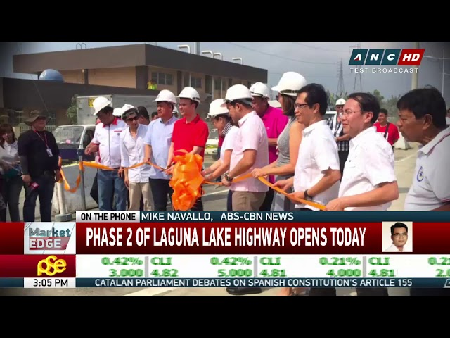Laguna Lake Highway to halve Bicutan-Taytay travel time